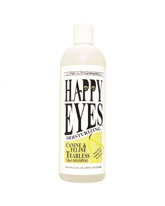 Chris Christensen Happy Eyes Tearless Shampoo Деликатный, гипоаллергенный шампунь без слез 2 в 1