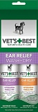 Vet's Best Ear Relief Wash & Dry Combo Pack / Набор для ухода за ушами